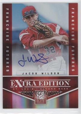 2012 Elite Extra Edition Franchise Futures Signatures [Autographed] #97 - Jacob Wilson /749