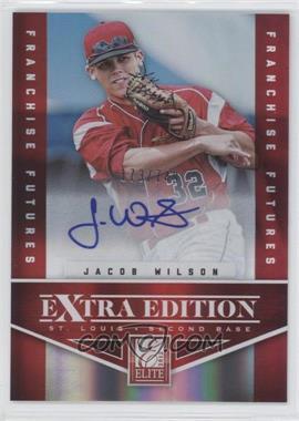 2012 Elite Extra Edition Franchise Futures Signatures [Autographed] #97 - Jacob Wilson /749