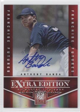 2012 Elite Extra Edition Franchise Futures Signatures [Autographed] #98 - Anthony Banda /500