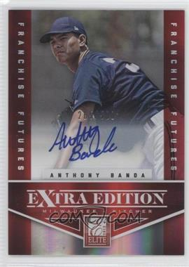 2012 Elite Extra Edition Franchise Futures Signatures [Autographed] #98 - Anthony Banda /500