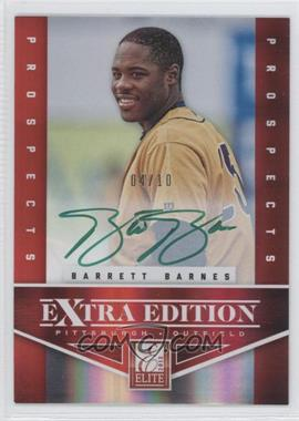 2012 Elite Extra Edition Prospects Autographs Green Ink [Autographed] #121 - Barrett Barnes /10