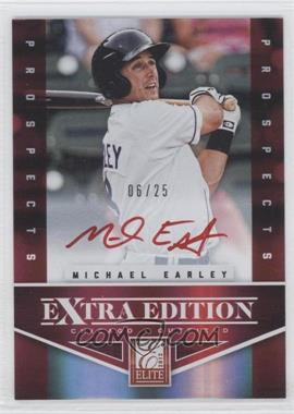 2012 Elite Extra Edition Prospects Autographs Red Ink [Autographed] #171 - Michael Earley /25
