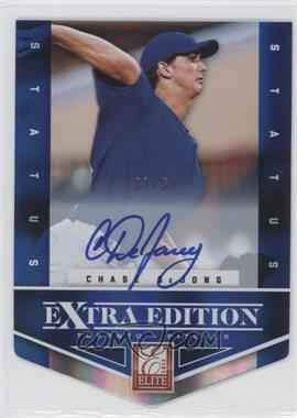 2012 Elite Extra Edition Status Blue Die-Cut Signatures #158 - Chase DeJong /50