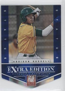 2012 Elite Extra Edition Status Blue Die-Cut #1 - Addison Russell /100