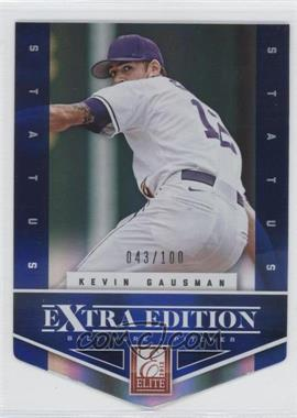 2012 Elite Extra Edition Status Blue Die-Cut #104 - Kevin Gausman /100
