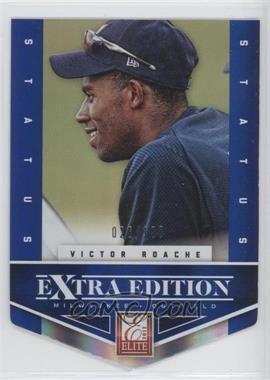 2012 Elite Extra Edition Status Blue Die-Cut #114 - Victor Roache /100