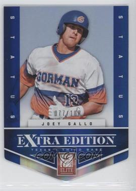 2012 Elite Extra Edition Status Blue Die-Cut #131 - Joey Gallo /100