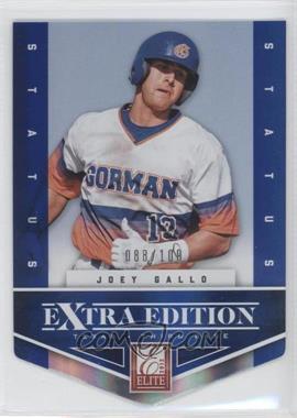 2012 Elite Extra Edition Status Blue Die-Cut #131 - Joey Gallo /100