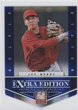 2012 Elite Extra Edition Status Blue Die-Cut #162 - Joe Munoz /100