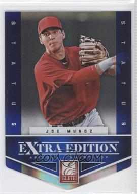 2012 Elite Extra Edition Status Blue Die-Cut #162 - Joe Munoz /100