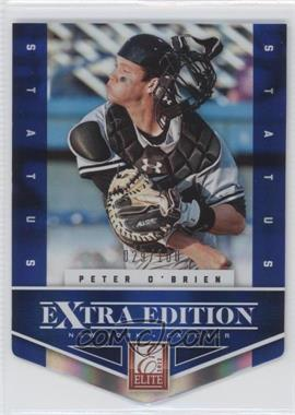 2012 Elite Extra Edition Status Blue Die-Cut #163 - Peter O'Brien /100