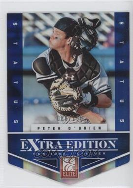 2012 Elite Extra Edition Status Blue Die-Cut #163 - Peter O'Brien /100