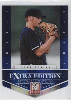 2012 Elite Extra Edition Status Blue Die-Cut #184 - Josh Turley /100
