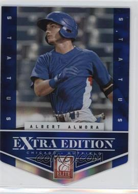 2012 Elite Extra Edition Status Blue Die-Cut #2 - Albert Almora /100