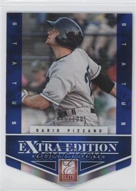 2012 Elite Extra Edition Status Blue Die-Cut #73 - Dario Pizzano /100