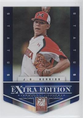 2012 Elite Extra Edition Status Blue Die-Cut #88 - J.O. Berrios /100