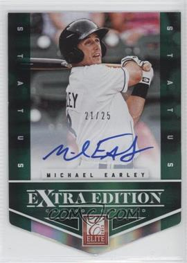 2012 Elite Extra Edition Status Emerald Die-Cut Signatures [Autographed] #171 - Michael Earley /25