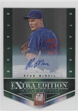 2012 Elite Extra Edition Status Emerald Die-Cut Signatures [Autographed] #33 - Ryan McNeil /25