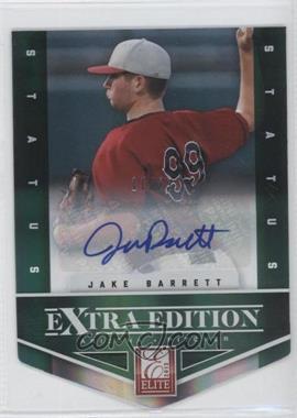 2012 Elite Extra Edition Status Emerald Die-Cut Signatures [Autographed] #40 - Jake Barrett /25