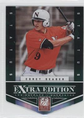 2012 Elite Extra Edition Status Emerald Die-Cut #113 - Corey Seager /25