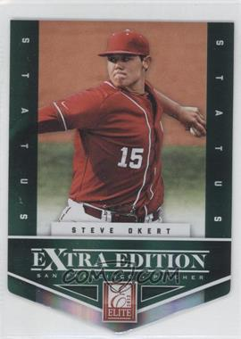 2012 Elite Extra Edition Status Emerald Die-Cut #172 - Steve Okert /25