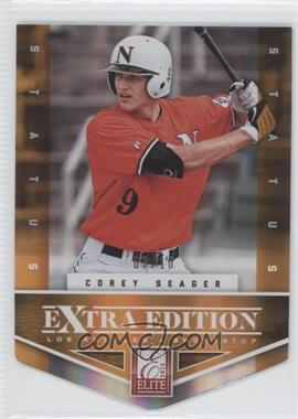 2012 Elite Extra Edition Status Orange Die-Cut #113 - Corey Seager /10