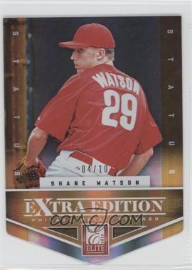 2012 Elite Extra Edition Status Orange Die-Cut #122 - Shane Watson /10