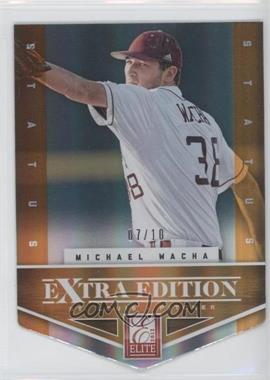 2012 Elite Extra Edition Status Orange Die-Cut #4 - Michael Wacha /10