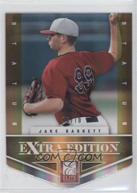 2012 Elite Extra Edition Status Orange Die-Cut #40 - Jake Barrett /10