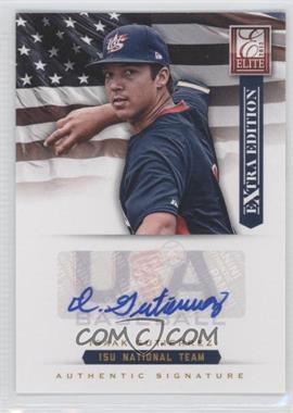 2012 Elite Extra Edition USA Baseball 15U Team Signatures #10 - Isaak Gutierrez /125