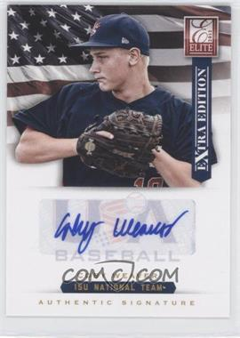 2012 Elite Extra Edition USA Baseball 15U Team Signatures #20 - Coby Weaver /125