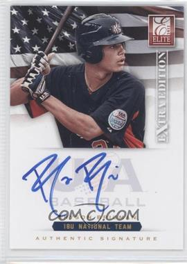 2012 Elite Extra Edition USA Baseball 18U Team Signatures #BB - Bryson Brigman /299