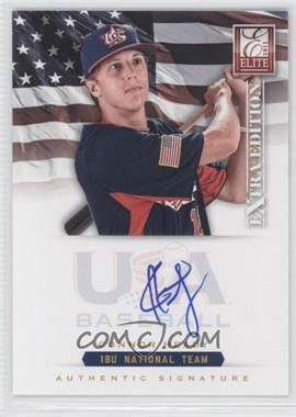 2012 Elite Extra Edition USA Baseball 18U Team Signatures #CH - Cody Hebner /299