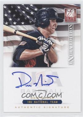 2012 Elite Extra Edition USA Baseball 18U Team Signatures #DN - Dom Nunez /299