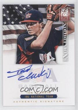 2012 Elite Extra Edition USA Baseball 18U Team Signatures #IC - Ian Clarkin /299
