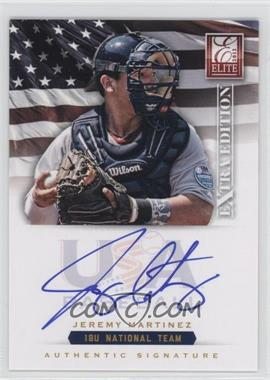 2012 Elite Extra Edition USA Baseball 18U Team Signatures #JM - Jeremy Martinez /299