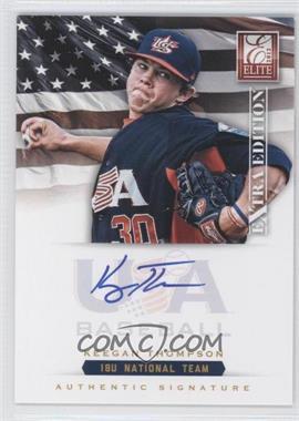 2012 Elite Extra Edition USA Baseball 18U Team Signatures #KT - Keegan Thompson /299