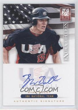 2012 Elite Extra Edition USA Baseball 18U Team Signatures #RB - Ryan Bolden /299