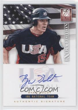 2012 Elite Extra Edition USA Baseball 18U Team Signatures #RB - Ryan Boldt /299
