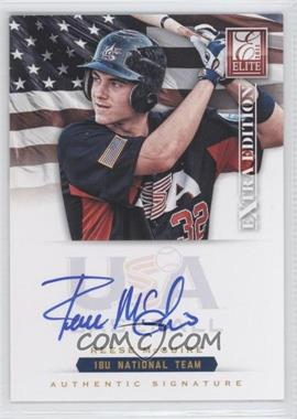 2012 Elite Extra Edition USA Baseball 18U Team Signatures #RM - Reese McGraw /299