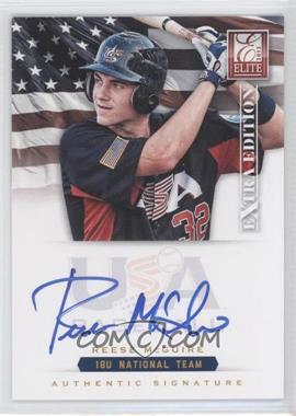 2012 Elite Extra Edition USA Baseball 18U Team Signatures #RM - Reese McGraw /299