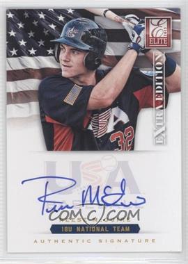 2012 Elite Extra Edition USA Baseball 18U Team Signatures #RM - Reese McGuire /299