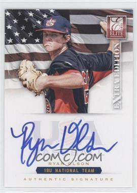 2012 Elite Extra Edition USA Baseball 18U Team Signatures #RO - Ryan Olson /299