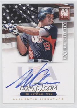 2012 Elite Extra Edition USA Baseball 18U Team Signatures #WA - Willie Abreu /299