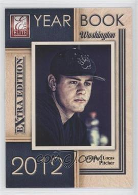 2012 Elite Extra Edition Yearbook #14 - Lucas Giolito