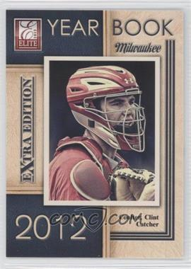 2012 Elite Extra Edition Yearbook #17 - Clint Coulter
