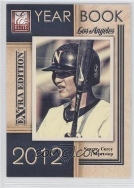 2012 Elite Extra Edition Yearbook #19 - Corey Seager
