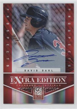 2012 Elite Extra Edition #107 - David Dahl /509