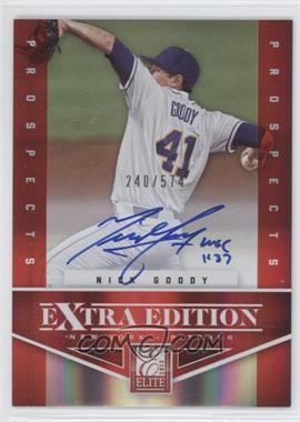 2012 Elite Extra Edition #135 - Nick Goody /574