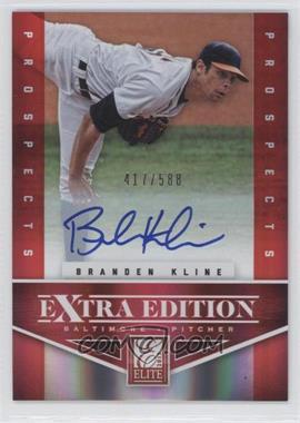 2012 Elite Extra Edition #155 - Branden Kline /588